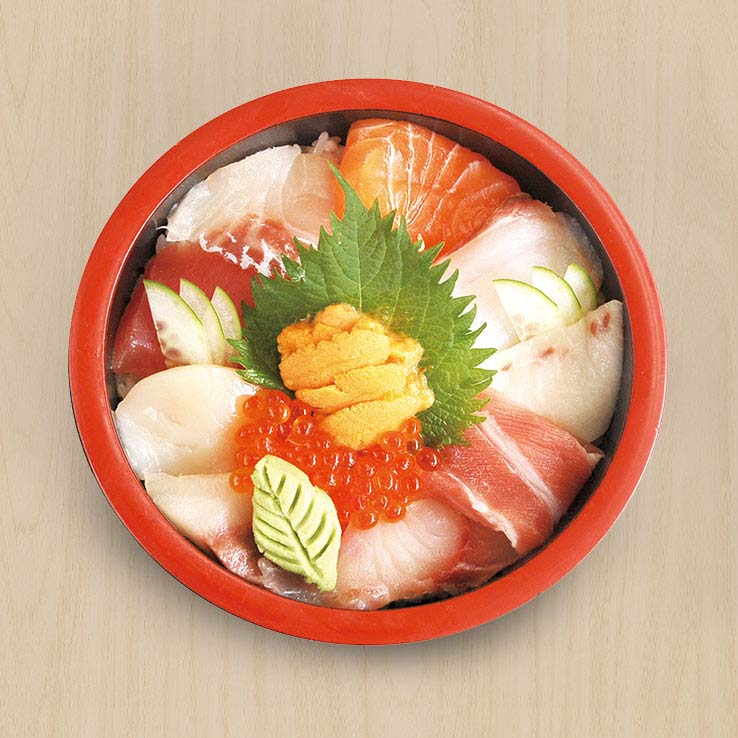 Special 11 kind of Chirashi Sushi