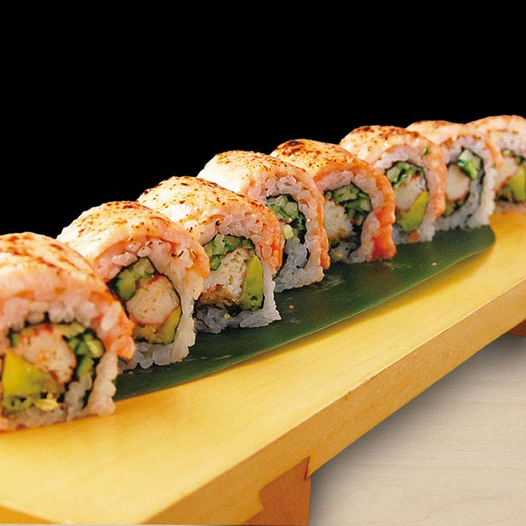 Salmon Crab Roll